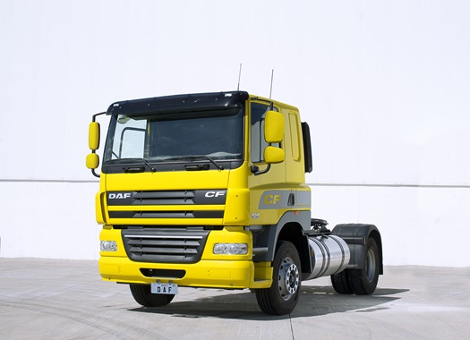 DAF-CF85-Sleeper-Cab-Demo-Yellow